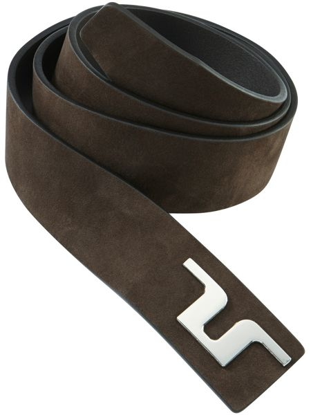 J Lindeberg Golf Carter Brushed Leather Belt