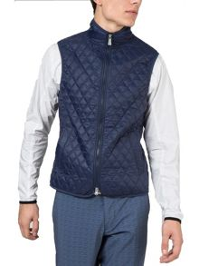 J Lindeberg Golf Quilted Club Gilet