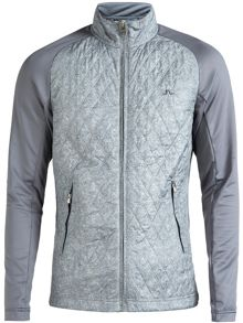 J Lindeberg Golf Robert Quilted Hybrid Jumper