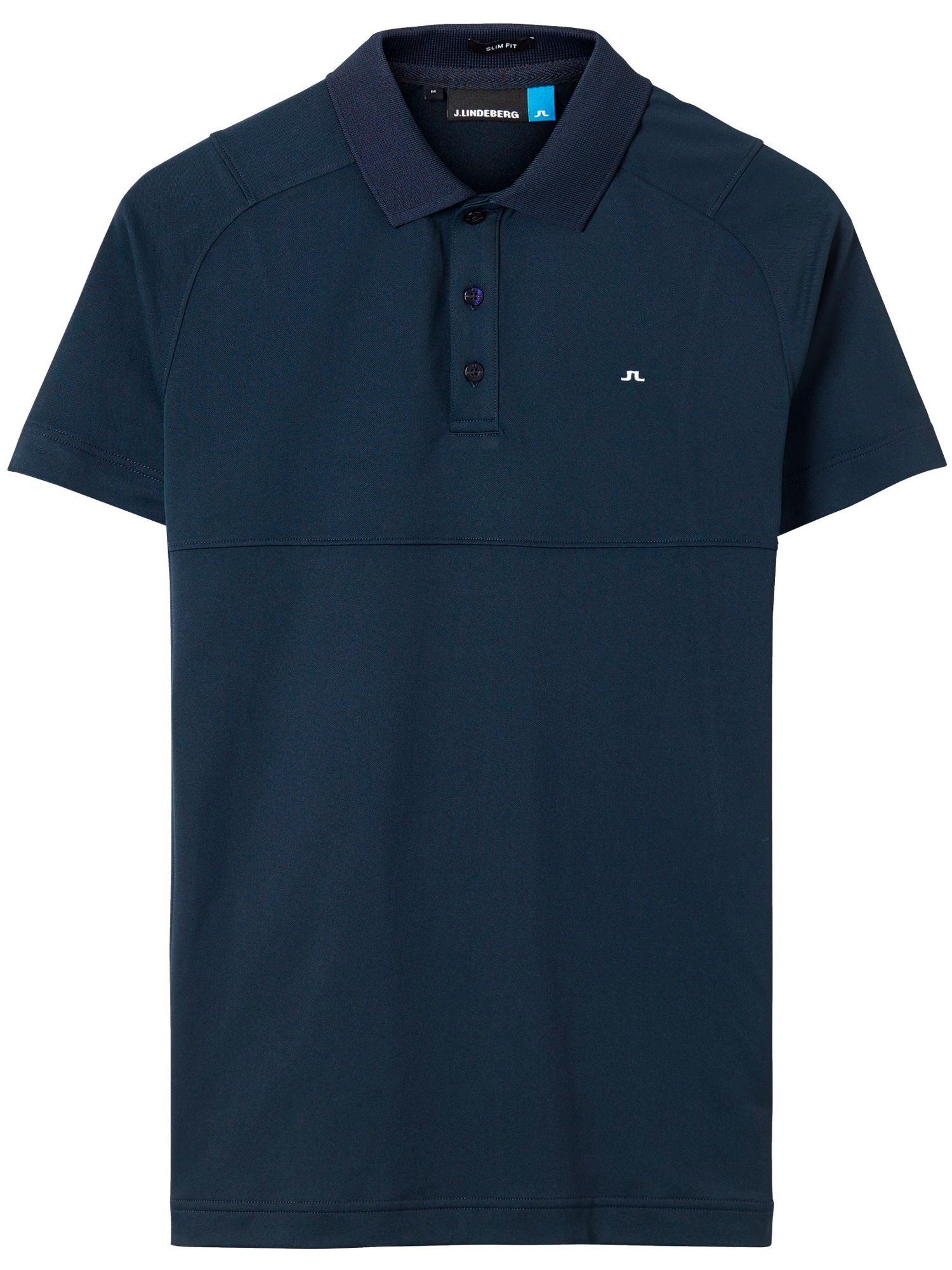 Men's J Lindeberg Golf Jesper TX Slim Fit Polo, Blue