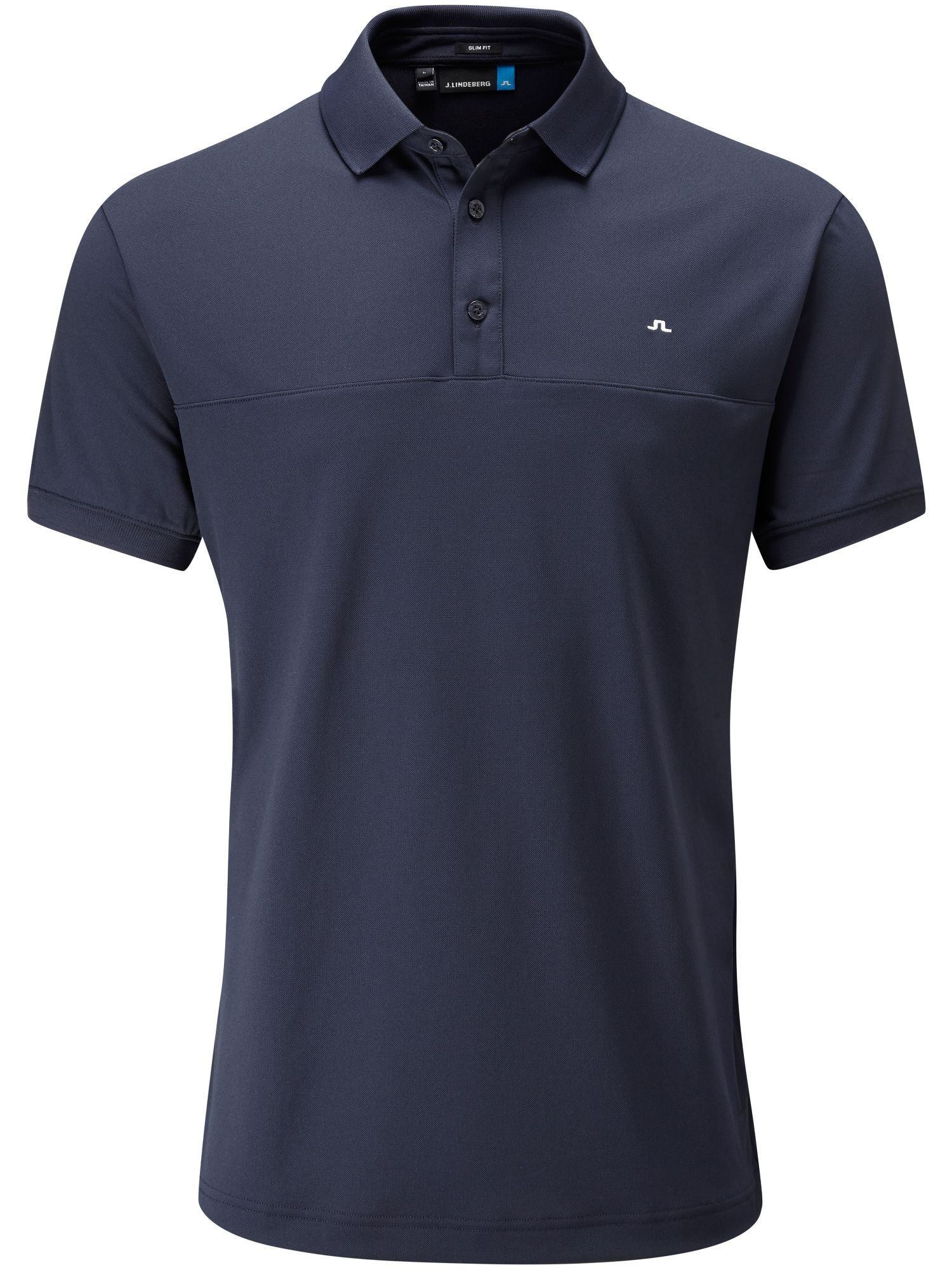 Men's J Lindeberg Golf Johan TX Slim Fit Polo, Blue