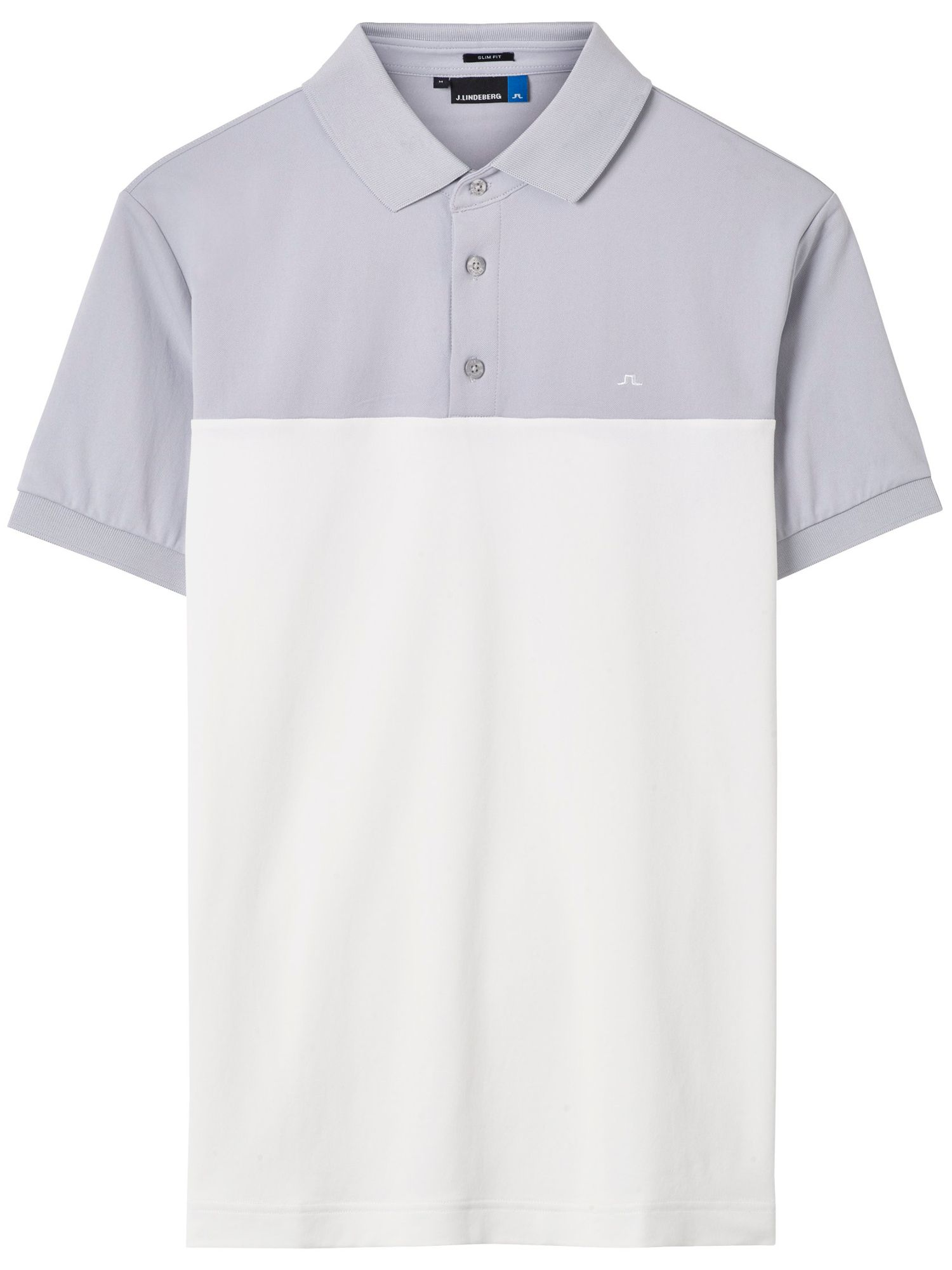 Men's J Lindeberg Golf Johan TX Slim Fit Polo, Grey