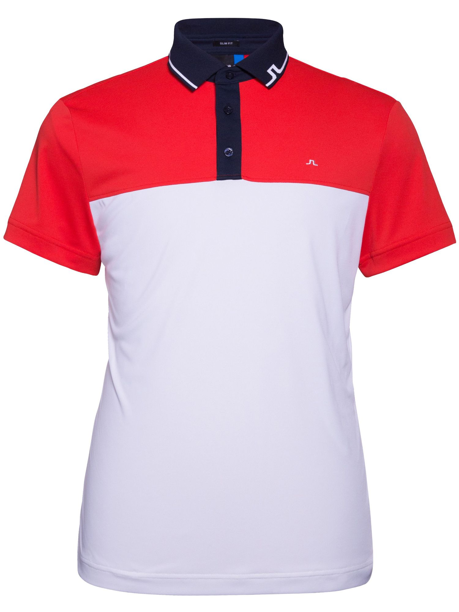 Men's J Lindeberg Johan TX Slim Fit Polo, Red