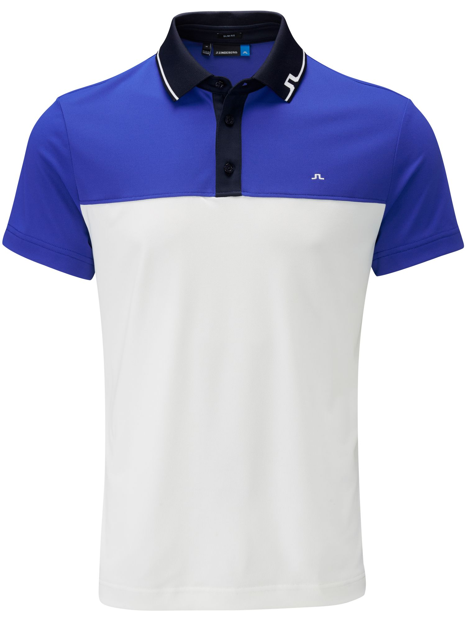 Men's J Lindeberg Johan TX Slim Fit Polo, Blue