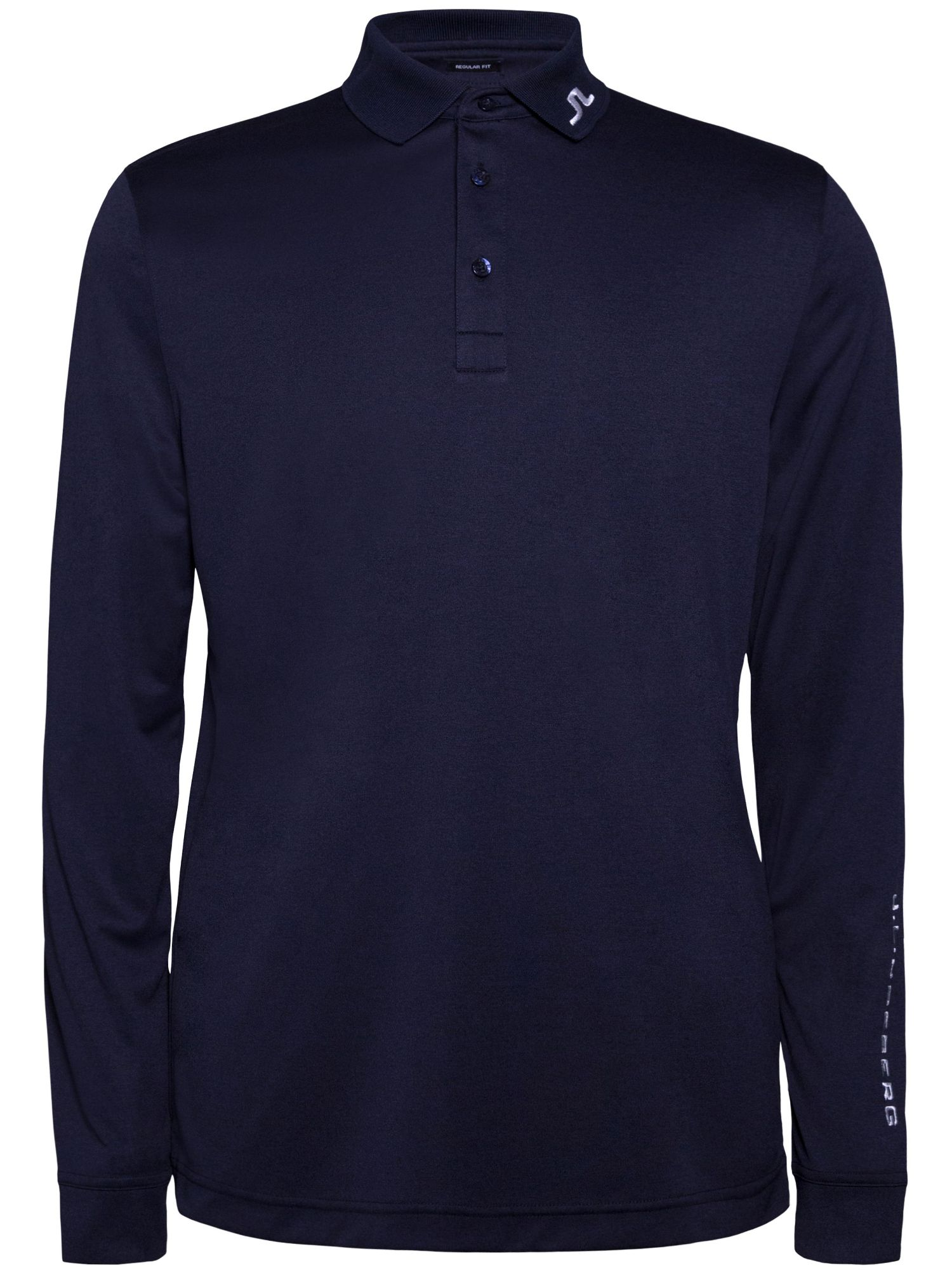 Men's J Lindeberg Tour Tech Long Sleeve Polo, Blue