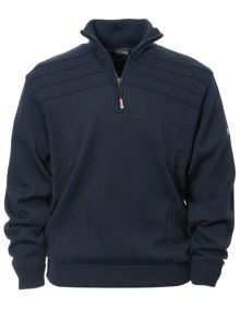 Orson lined half zip jumper
