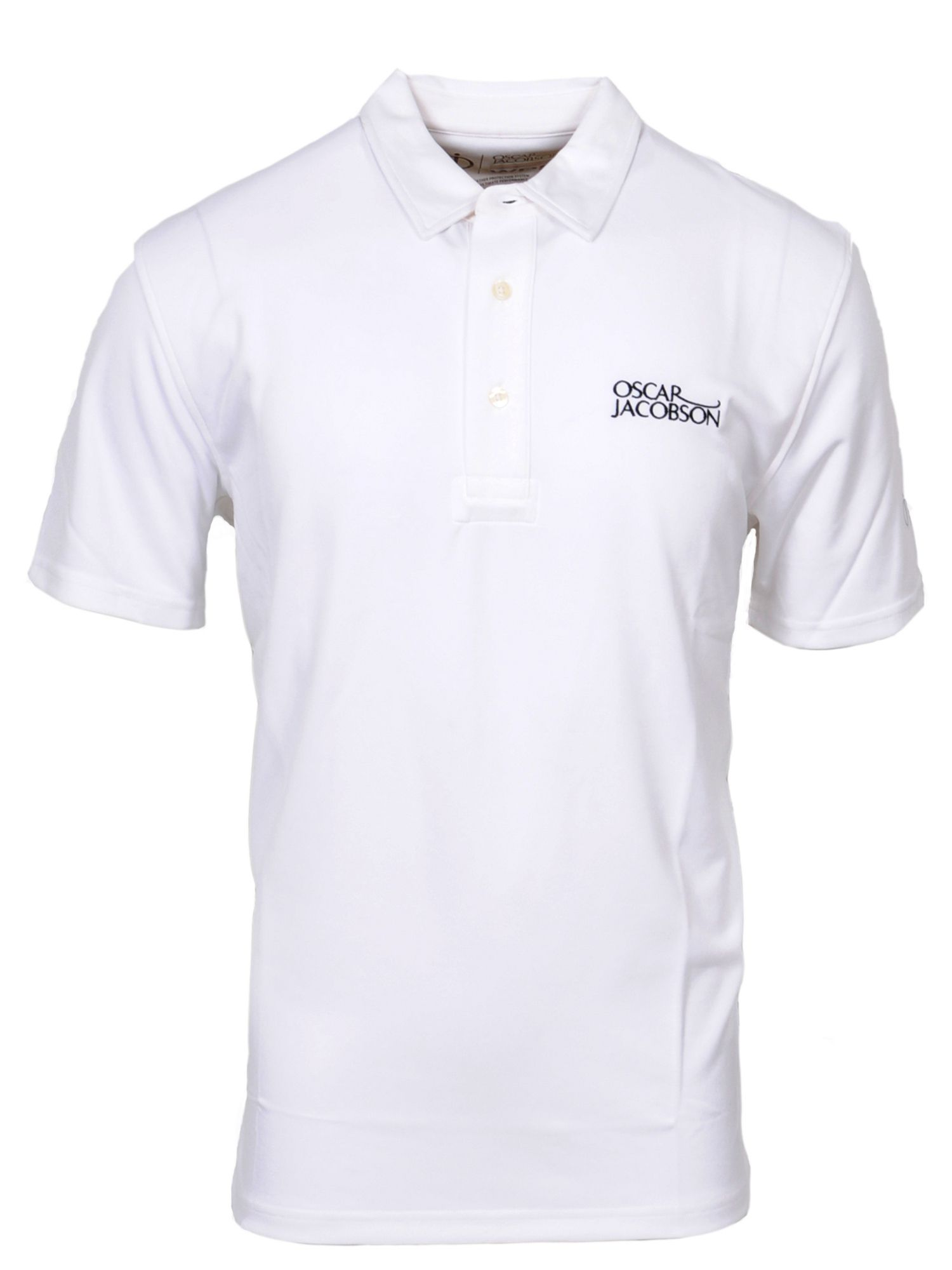 Men's Oscar Jacobson Collin Tour Polo, White