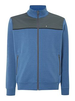 Men's Oscar Jacobson Elijah full zip cardigan