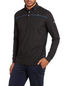 Ryan long sleeve polo shirt