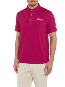 Oscar Jacobson Collin Tour Plain Regular Fit Polo Shirt