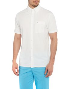 Oscar Jacobson Charles Plain Regular Fit Polo Shirt
