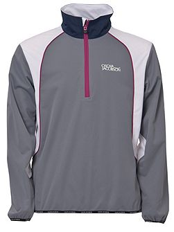 Men's Oscar Jacobson Milford Tourshowerproof Half Zip Jacket