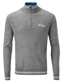 Oscar Jacobson Brock tour half zip jumper