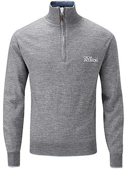 Brett Tour Lined Half Zip Jumper