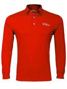 Oscar Jacobson Hubert Tour long sleeve polo
