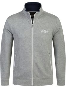 Oscar Jacobson Theo Full Zip Cardigan