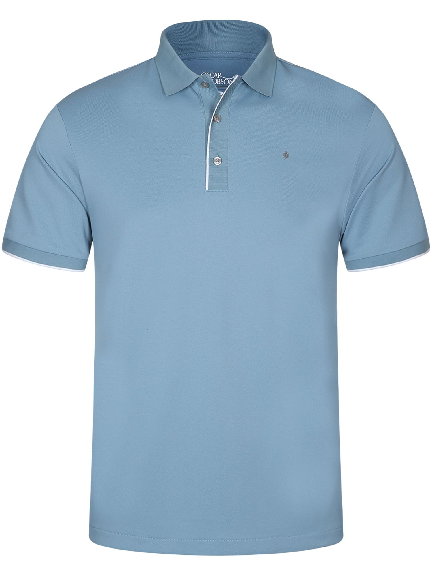 Men's Oscar Jacobson Ivo Pin Polo, Blue