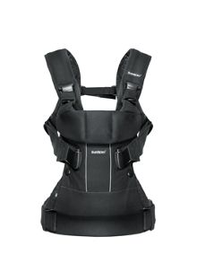 BabyBjorn Baby Carrier One - Black Cotton