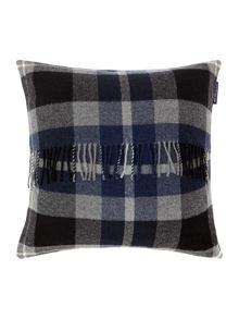 Classic Checked Wool Sham Black Multi