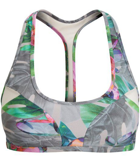 Bjorn Borg Mirage print swim sport top, Multi-Coloured