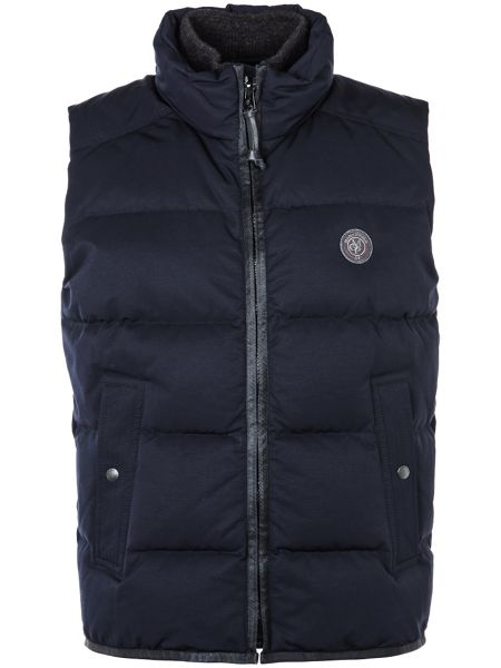 Marc O'Polo Down vest in water-repellent material