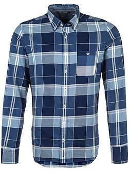 Checked shirt in cozy cotton