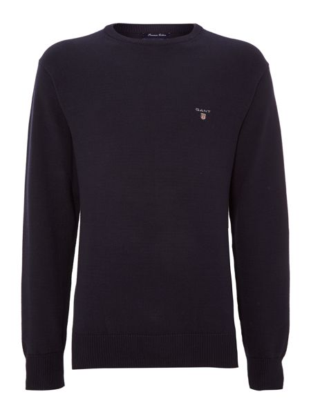 Gant Cotton crew-neck jumper