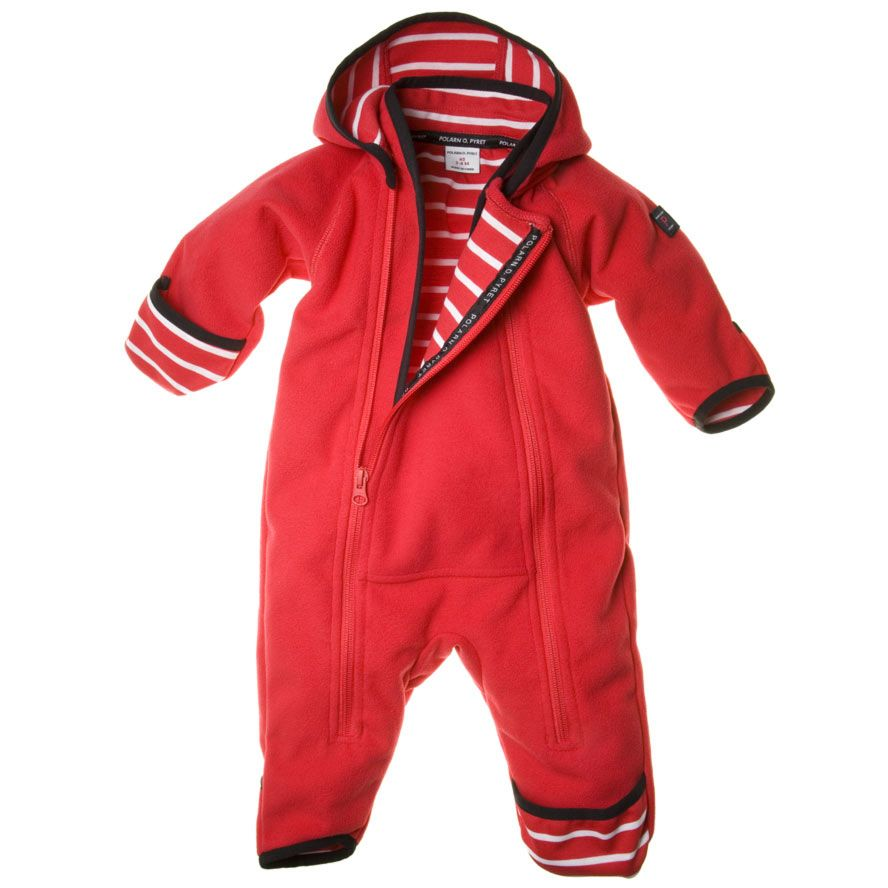 Baby windfleece overall
