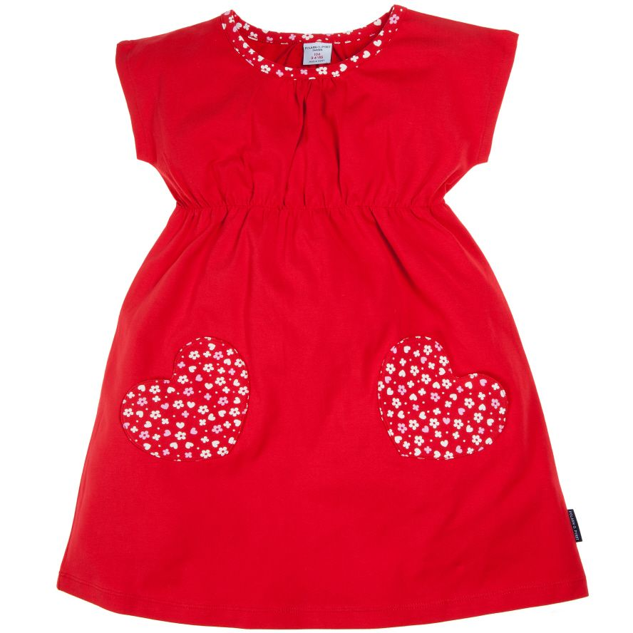 Toddler girl`s long sleeved dress