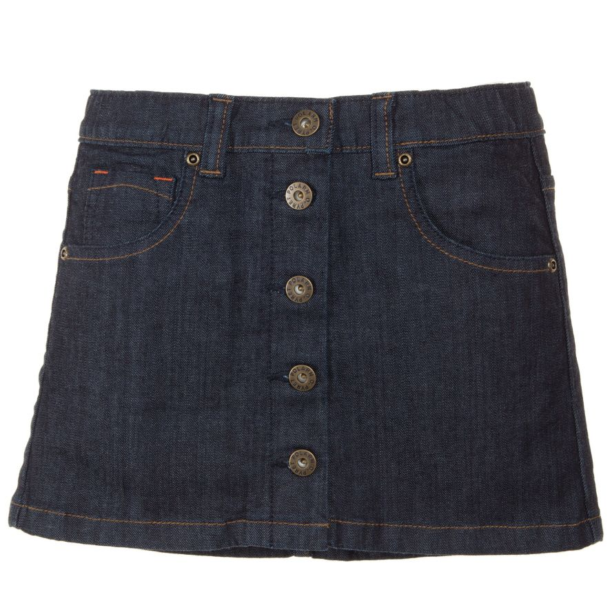 Girl`s denim skirt