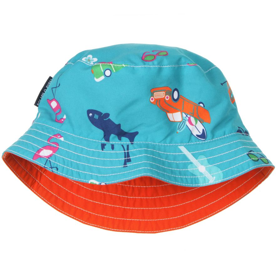 Baby sun and swim hat