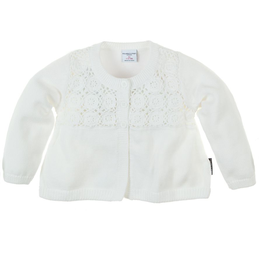 Toddler girl`s cardigan