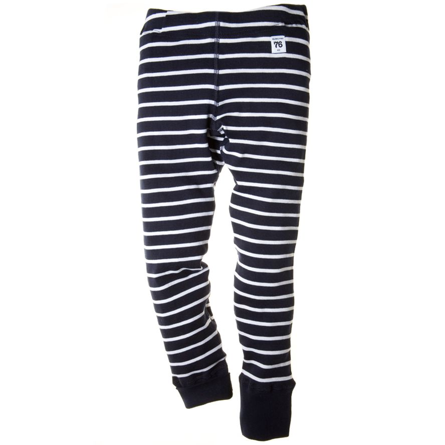 Kids stripe extendable leggings