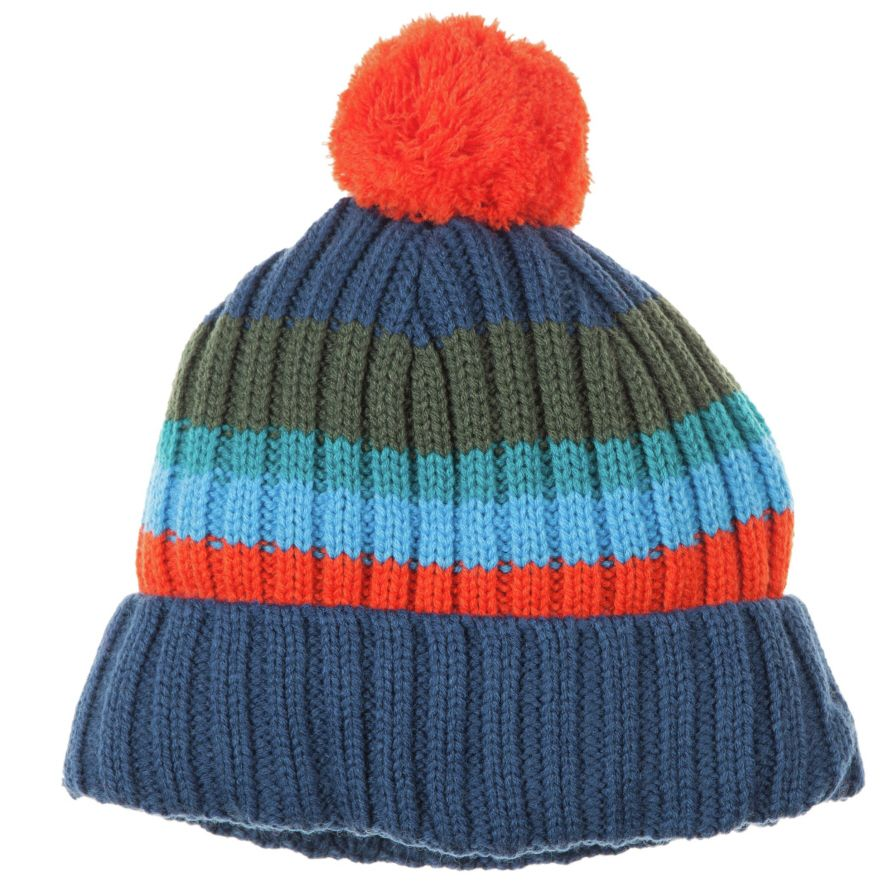 Kid`s knitted bobble hat