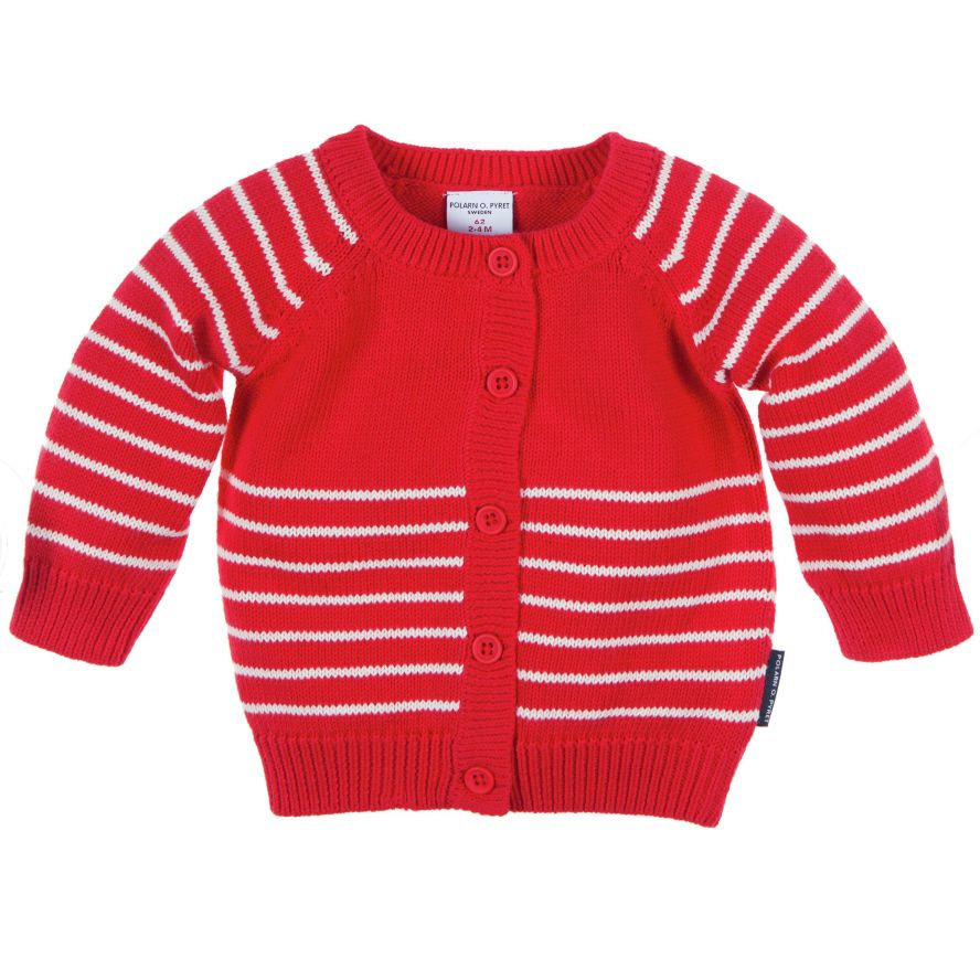 Baby long sleeved cardigan