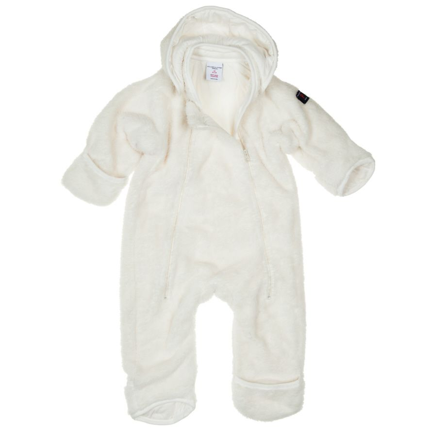 Baby fleece all in one