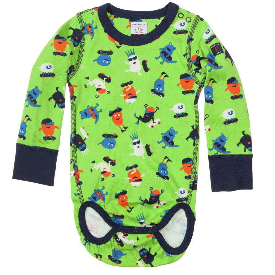Baby boy printed bodysuit