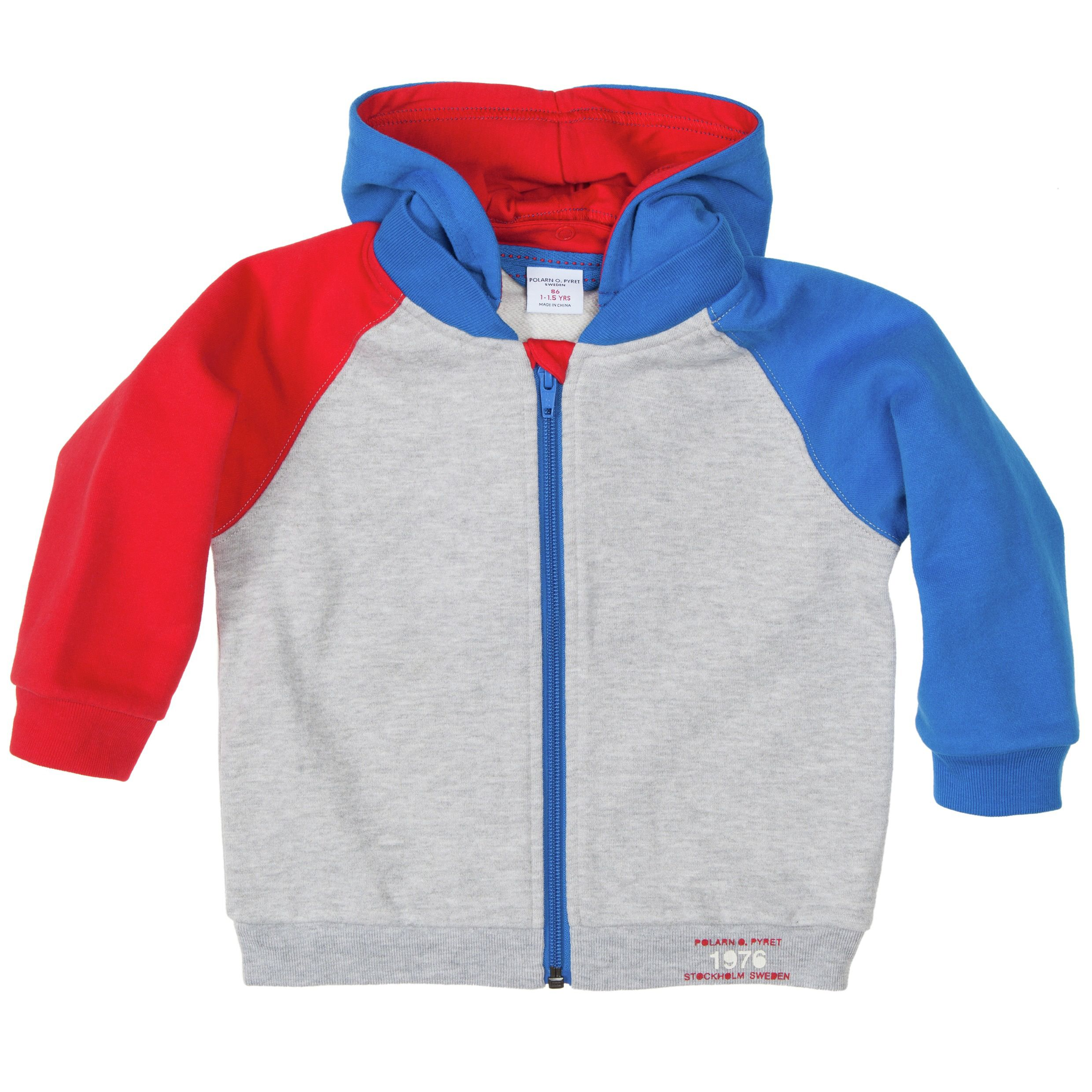 Baby multicolour hooded top
