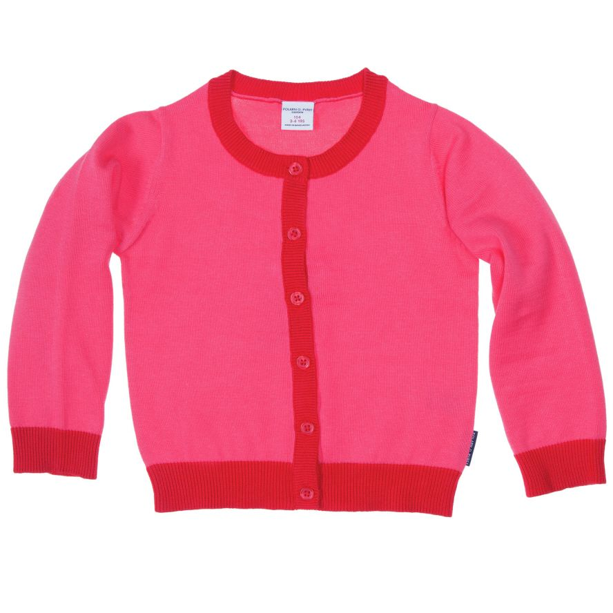 Baby girl fine knit cardigan