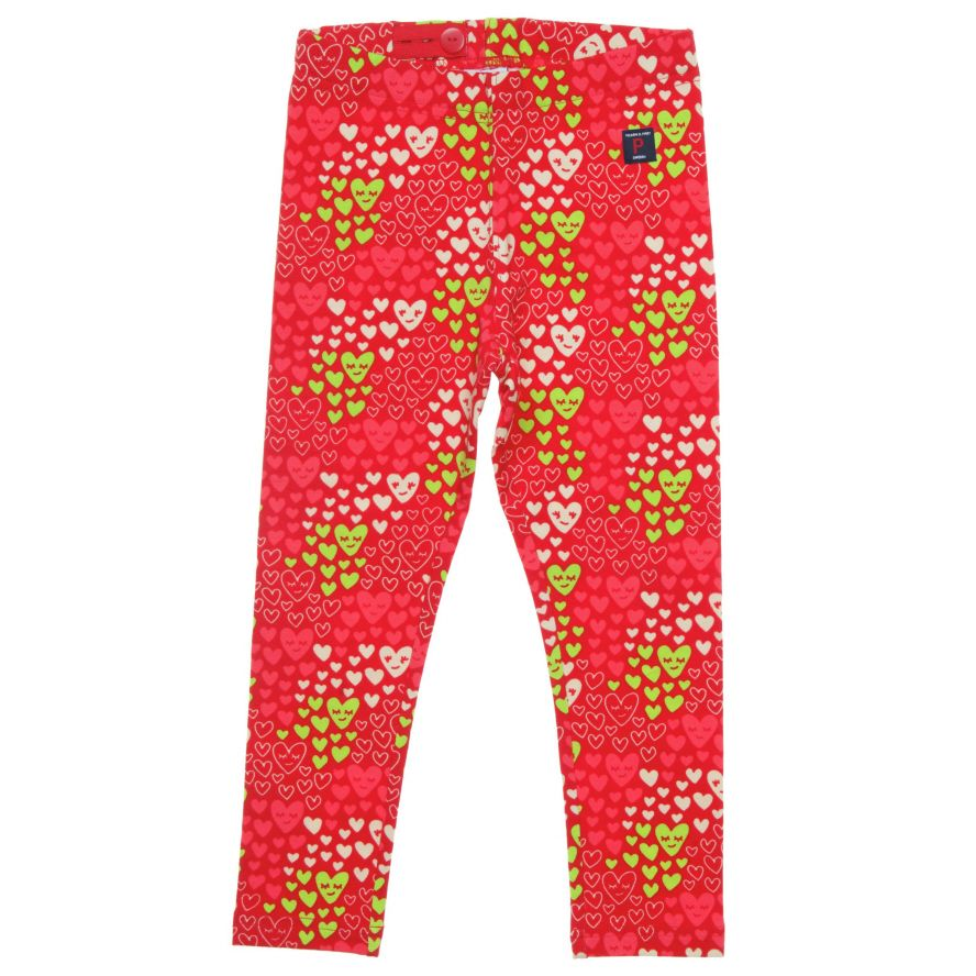 Baby heart print leggings