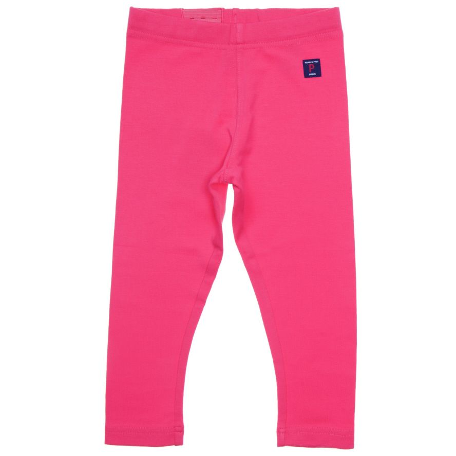 Baby girl organic cotton leggings