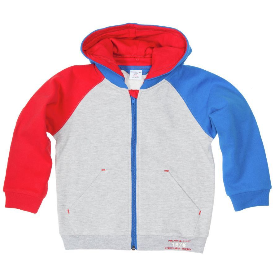 Kids multicolour hooded top (2-6 years)