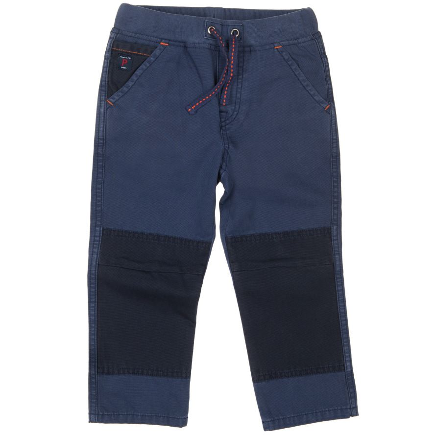 Boys soft canvas trousers (2-6 years)