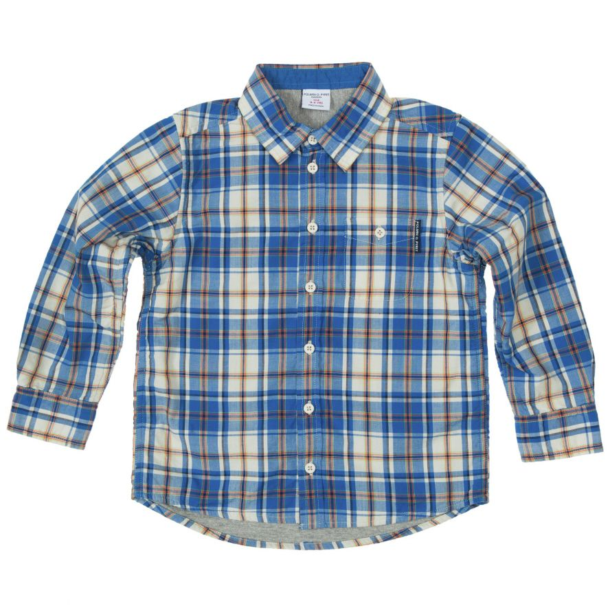 Boys poplin shirt (2-6 years)