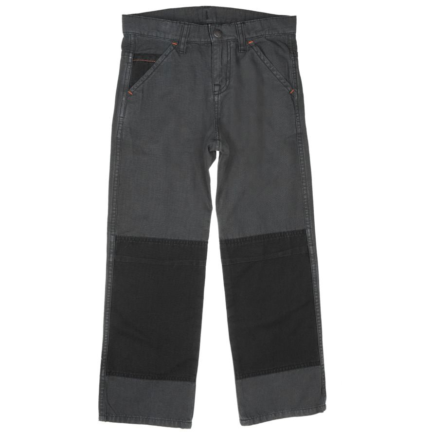 Boys soft canvas trousers (6-12 years)