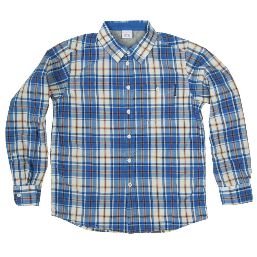 Boys poplin shirt (6-12 years)