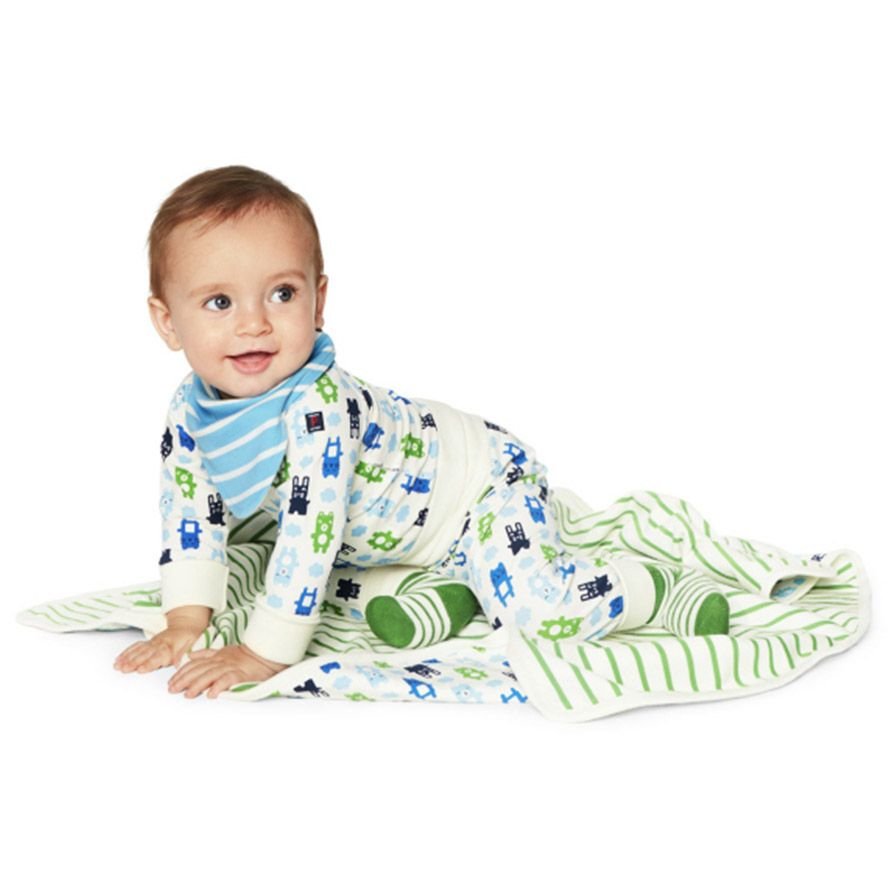 Baby  wrap around bodysuit