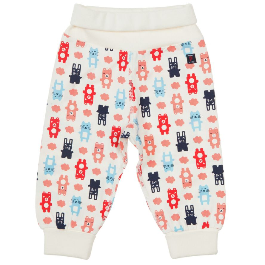 Baby printed animal trousers