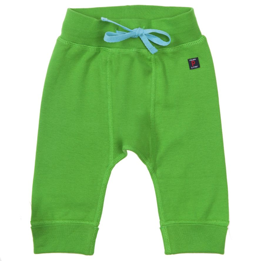 Baby plain drawstring trousers