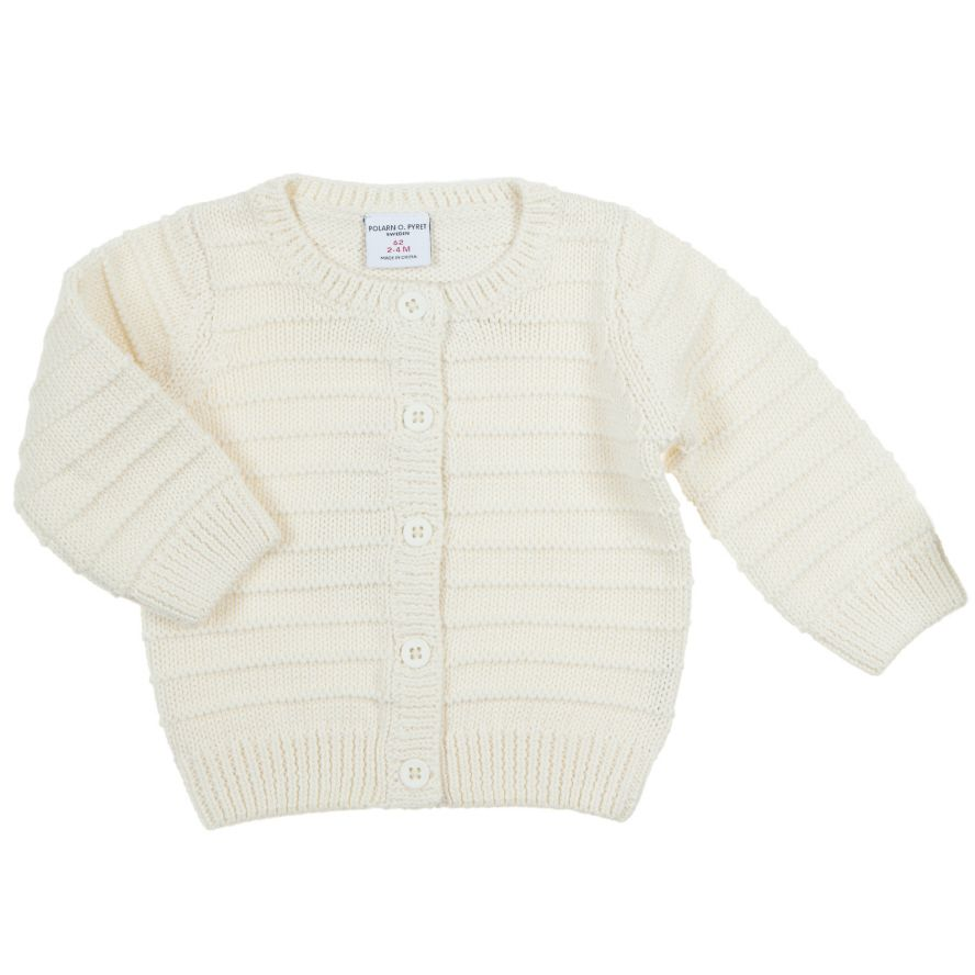 Baby`s knitted cardigan